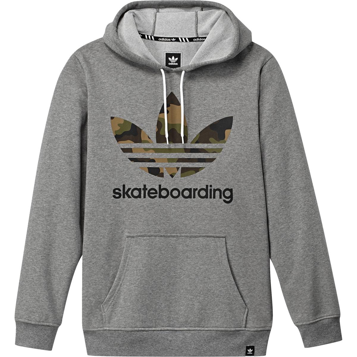 tanie jak barszcz nowy produkt styl mody Bluza Adidas skateboarding core heather/black/craf