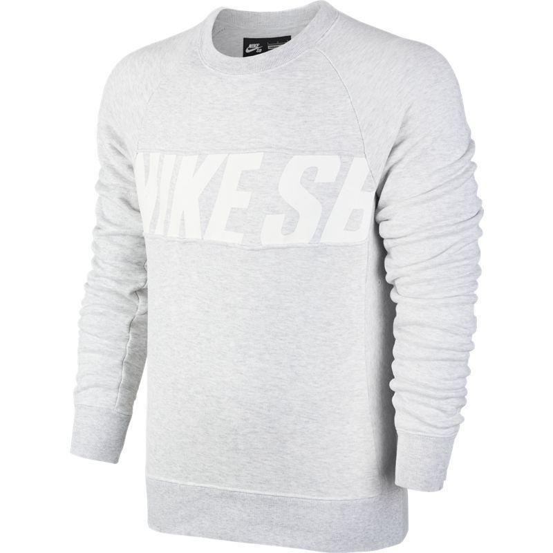 30afa5a151a74 Bluza Nike SB Everett Motion Crew Dk Grey Heather black grey