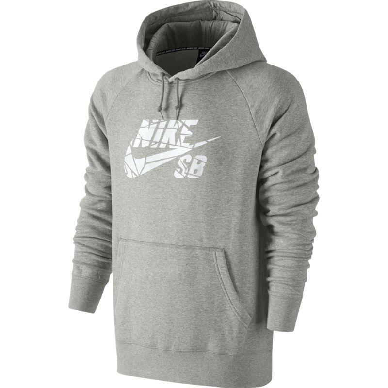 be29e45307 Bluza Nike SB Icon Grip Tape Pullover Dk Grey Heather/white grey || green |  Brands \ Nike SB Clothes \ Bluzy \ Hoods Odzież \ Nike SB \ Nike Zima 2015  ...