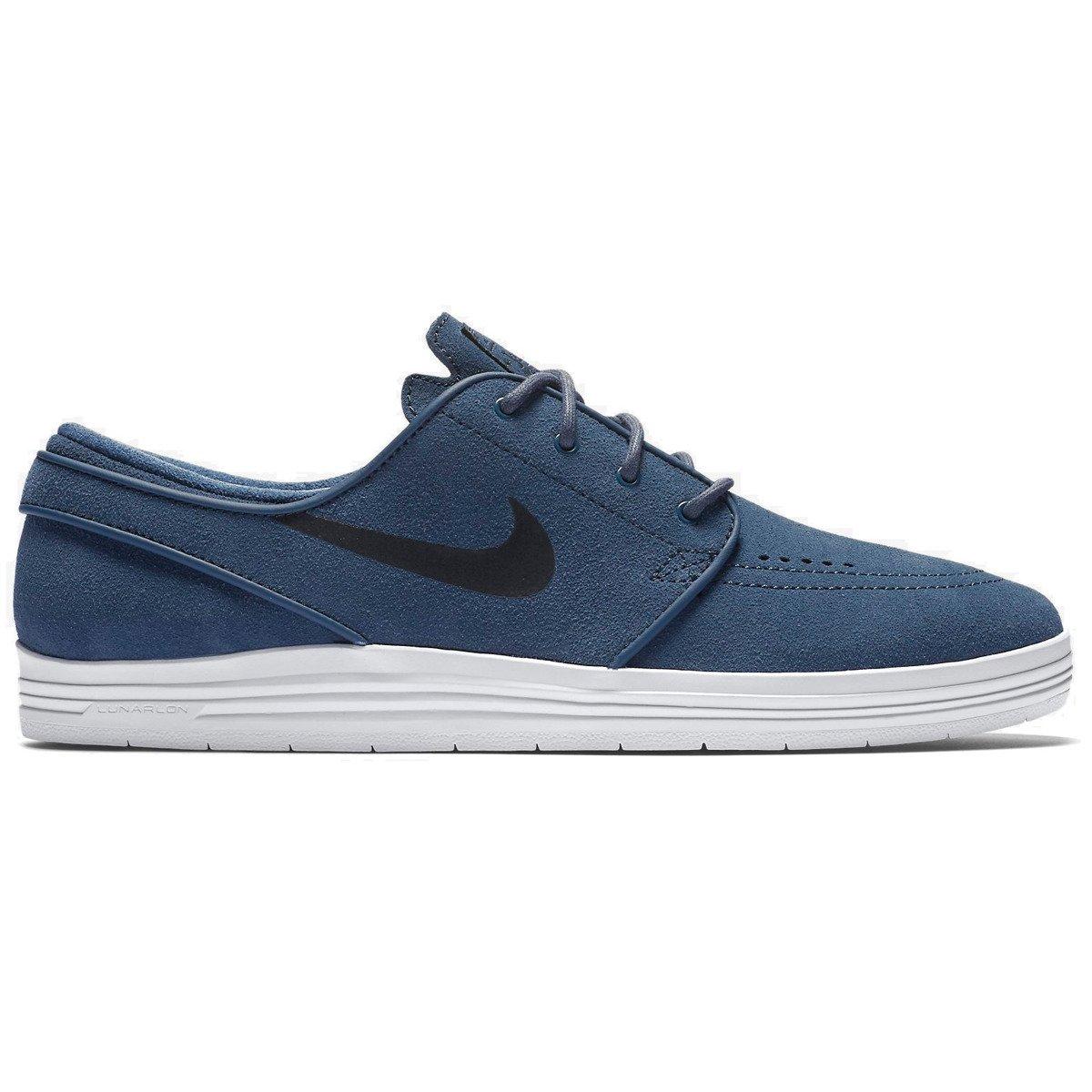 100% authentic f09a0 2d6bf ... closeout buty nike sb lunar stefan janoski squadron blue black white  granatowy shoes nike sb shoes