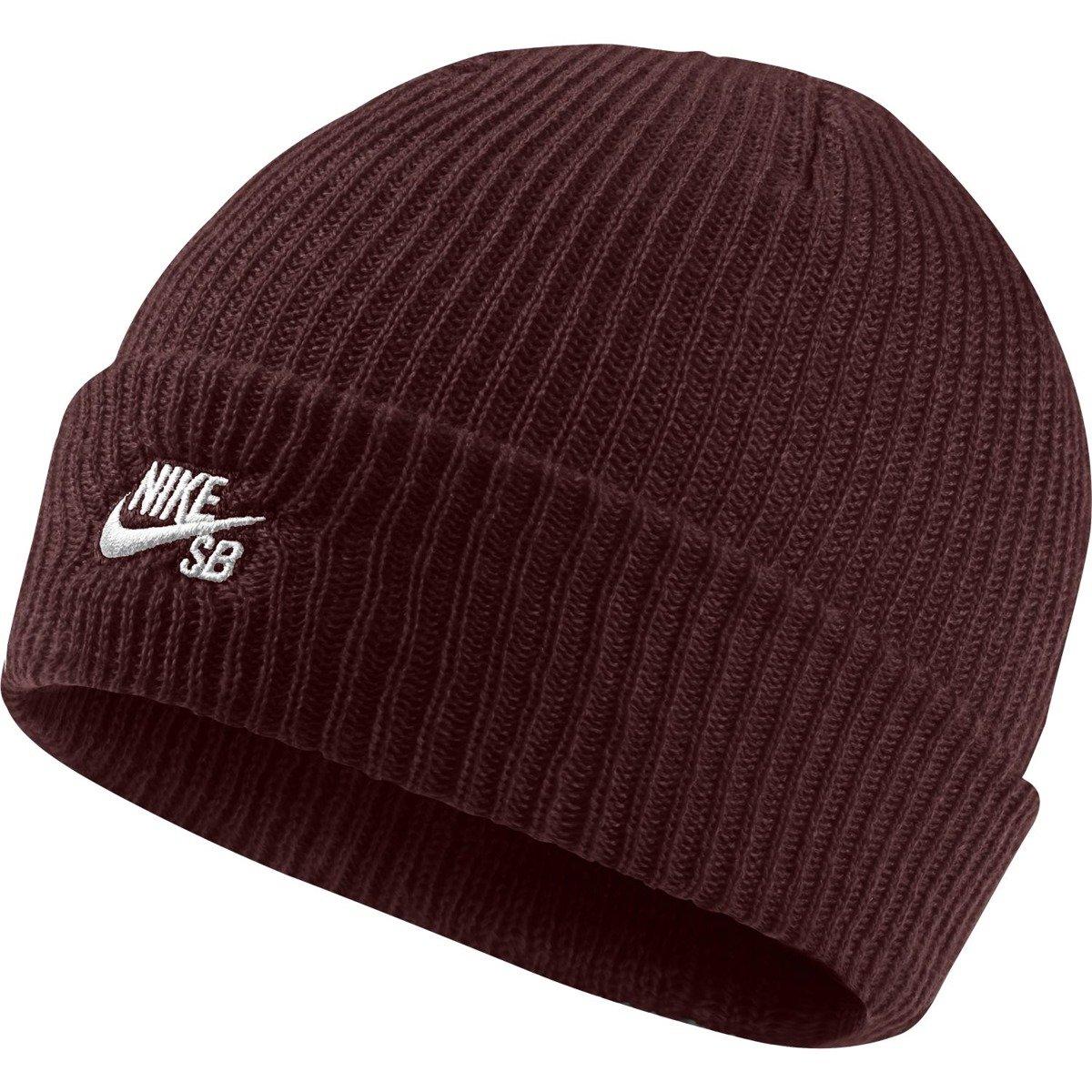 46c2935a Czapka Nike SB Fisherman obsidian/white burgundy | Clothes \ Cap \ Beanie  Brands \ Nike SB Produkt Na Prezent Odzież \ Nike SB \ Nike Fall 2017 |  Skateshop ...