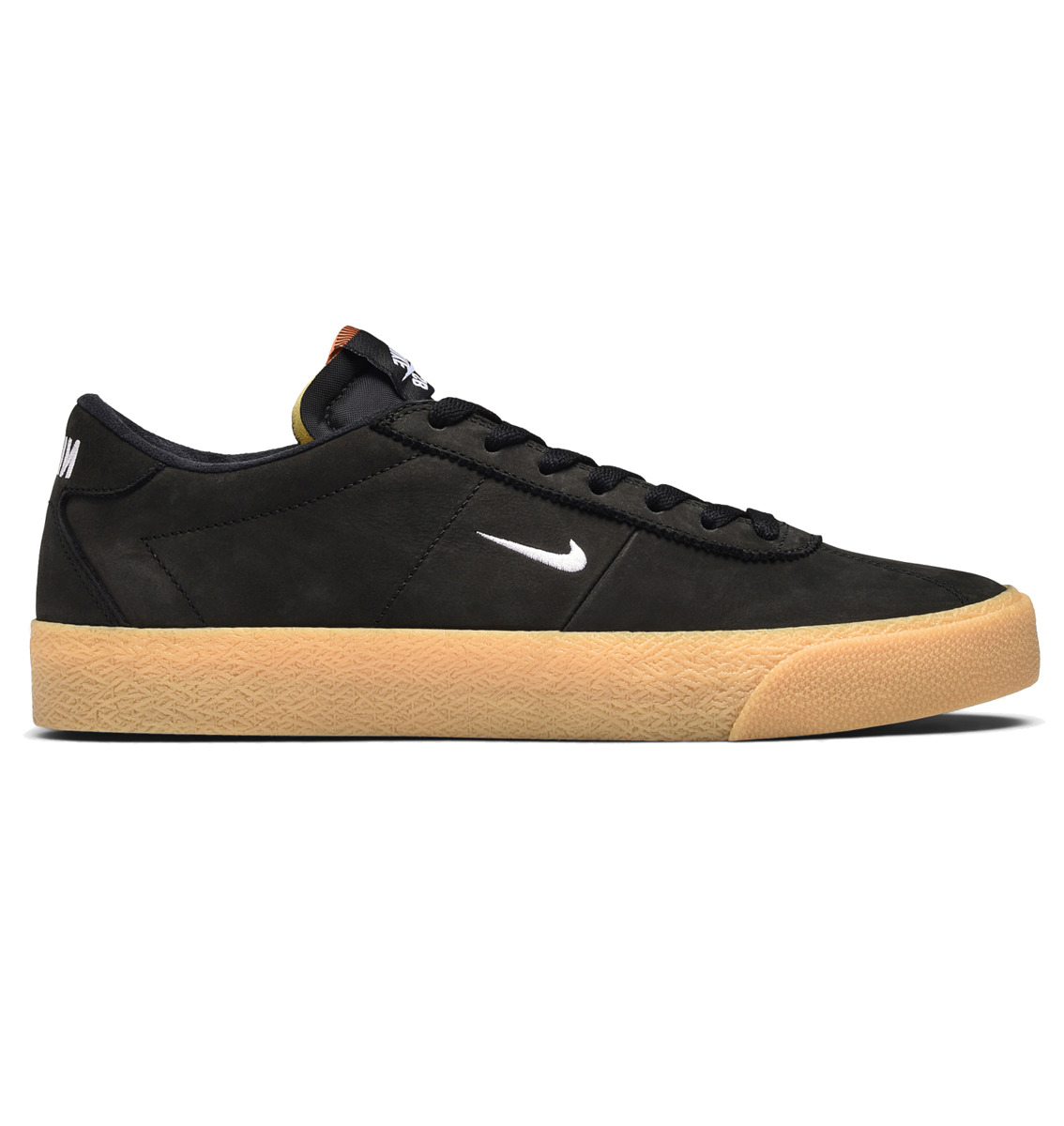 new styles e60dc bf26c Nike SB Zoom Bruin ISO Black white-safety Orange Click to zoom ...