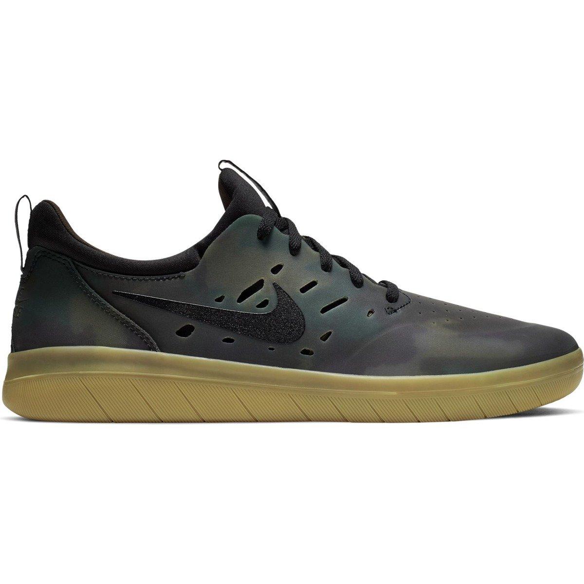 75f1338da7f86 Nike Sb Nyjah Free Premium Multi-color black-gum Light Brown green ...