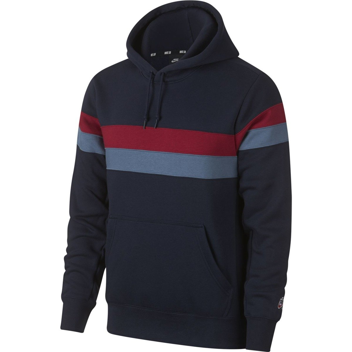 on sale 6593c b9c7f Nike sb Hoodie Icon Stripes Obsidian team Crimson team Crimson blue    Brands   Nike SB Clothes   Bluzy   Hoods   Skateshop Miniramp.pl