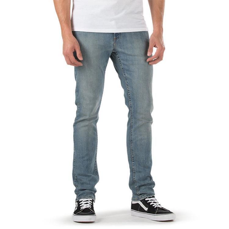 f0bc6eb6a7 SPODNIE VANS V76 SKINNY VINTAGE Jasny Jeans