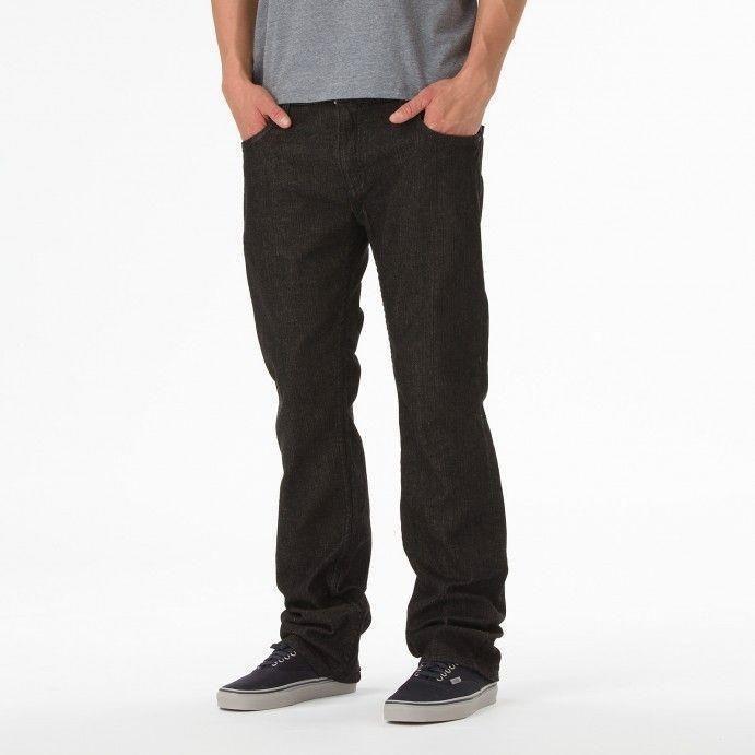 97513b04c7 Spodnie vans V66 Slim Czarny Jeans