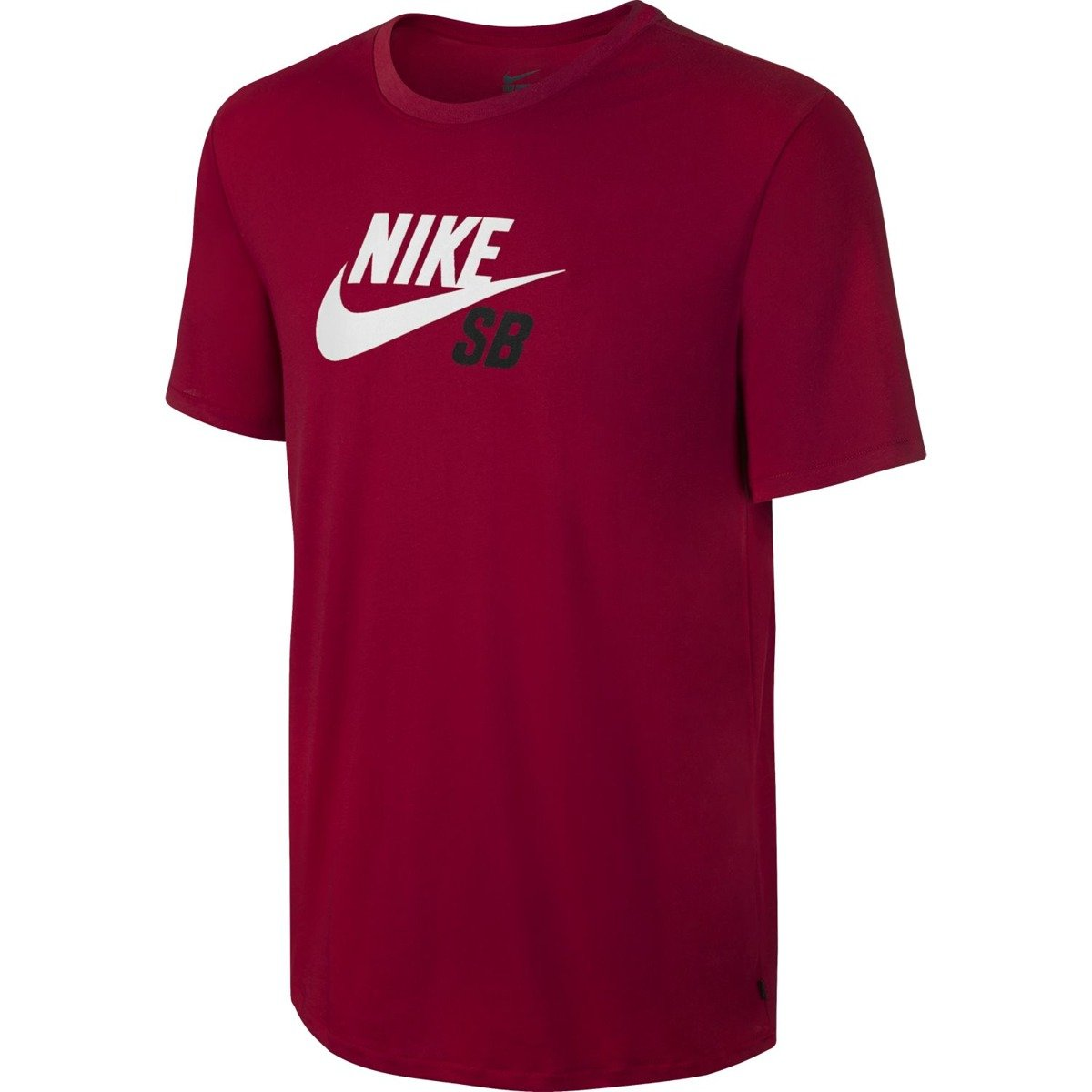 eb732d5a755e T-shirt Nike SB Dri-FIT Icon Logo Tee BLACK WHITE TUMBLED Click to zoom ...