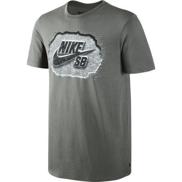 6a90e6db229d T-shirt Nike SB Dri-FIT Marble Icon TUMBLED GREY BLACK Click to zoom ...