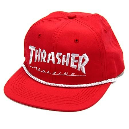 c6856551be8 Thrasher Skategoat Wool Blend Snap Blk red