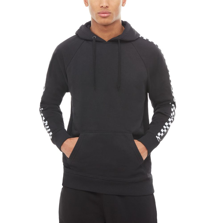 1e9ce4250a2792 Vans checker taped hoodie black