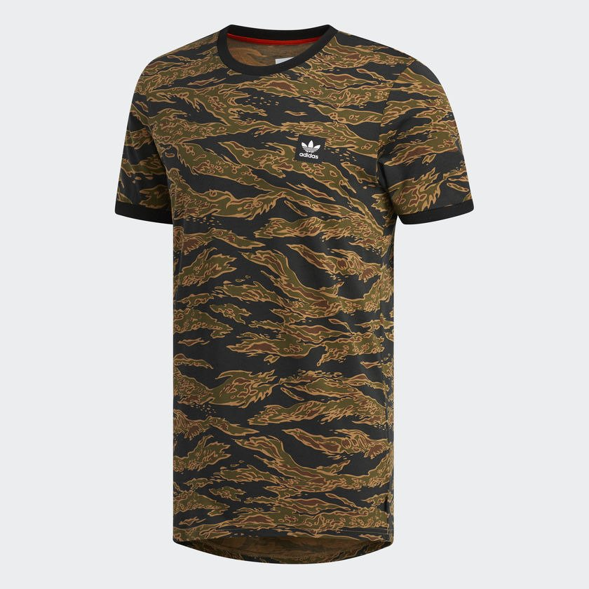 adidas skateboarding camouflage tee
