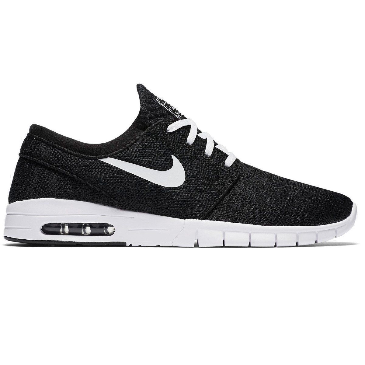 wholesale dealer 467bc f2f5f shoes nike sb stefan janoski max 631303-010 black white black   Shoes   Nike  SB Shoes   nike janoski SALE   Sale 50% -70%   Shoes Brands   Nike SB Buty  ...