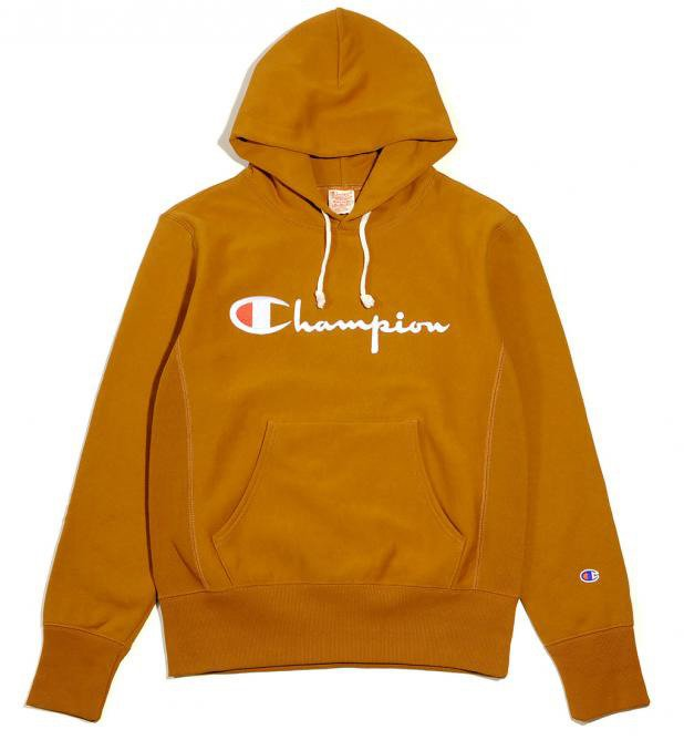 e406fe44b84e champion hooded sweatshirt reverse weave brown brown