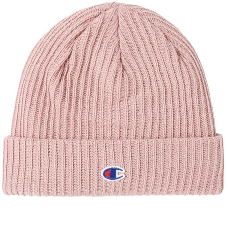 a50d71918 champion reverse weave logo beanie pink