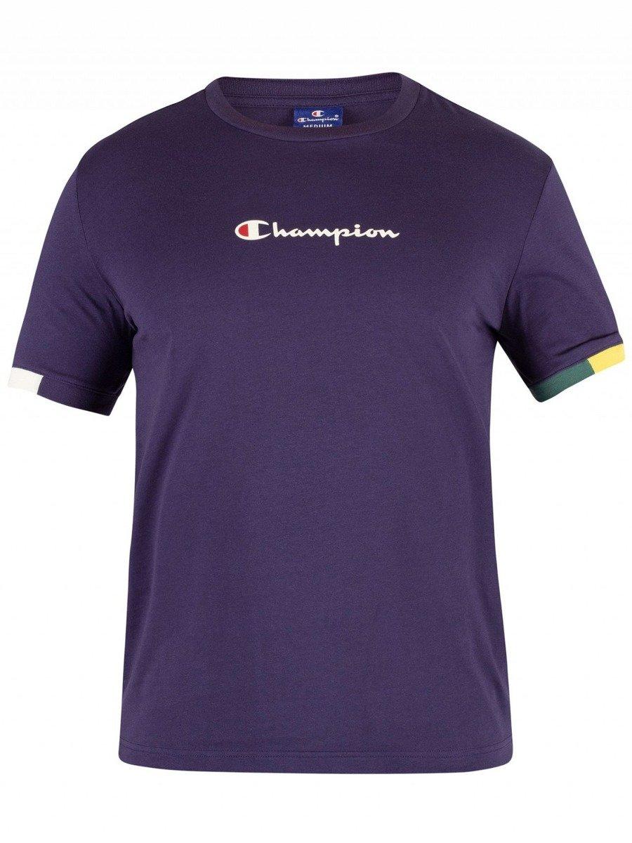 4a72bca7 champion ringer t-shirt navy   Clothes \ T-shirts \ T-Shirts Brands \  Champion SALE \ Sale - 40% \ T-Shirts   Skateshop Miniramp.pl