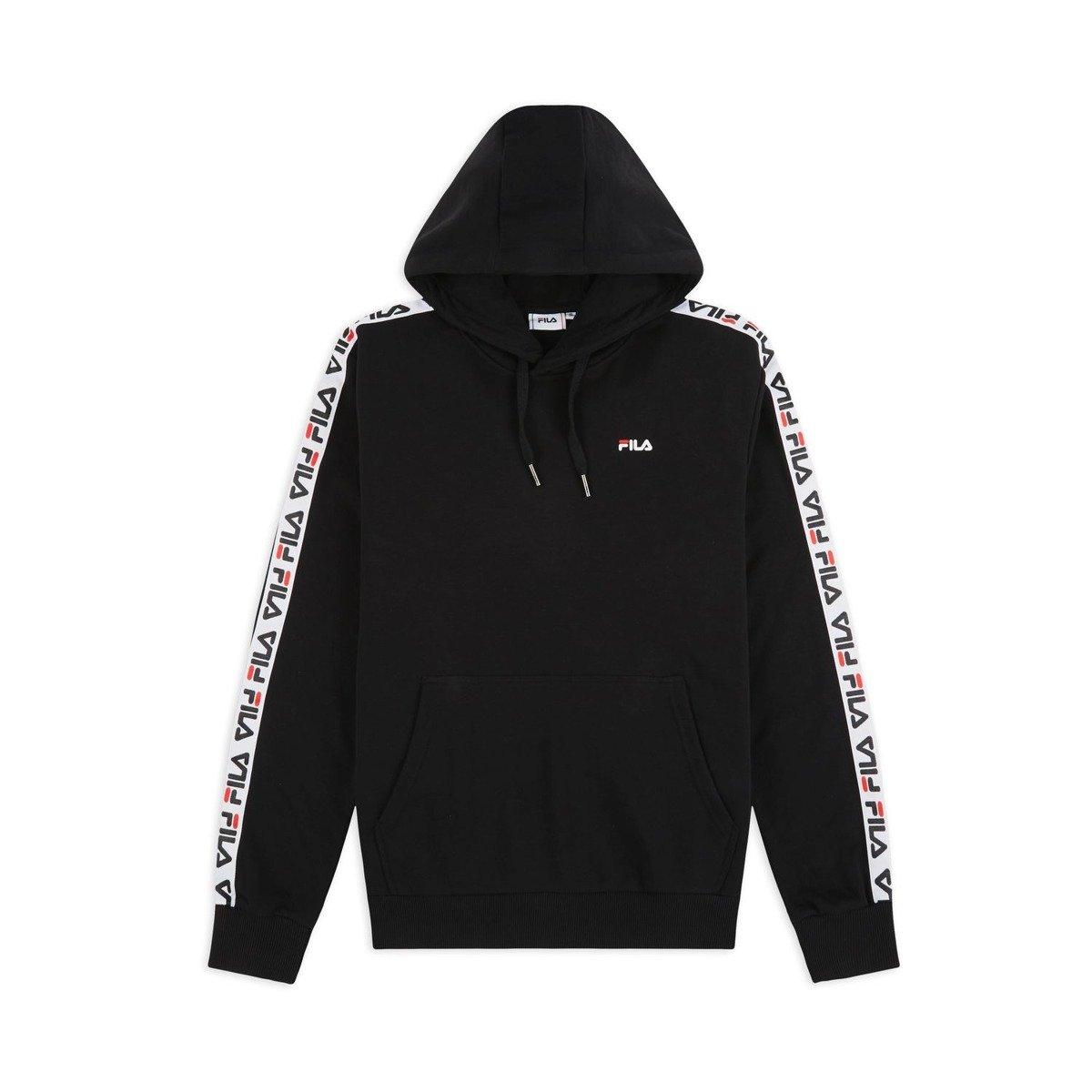 fila david taped hoodie