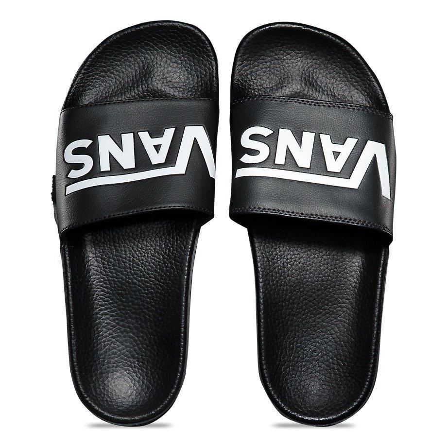 flip flops vans slide-on black | Shoes