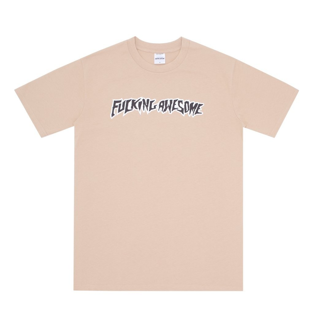 Fucking Awesome Puff Outline Logo Tee Khaki Brown Clothes T Shirts T Shirts Brands Fucking Awesome News Odziez Fucking Awesome All Skateshop Miniramp Pl Download and use them in your website, document or presentation. miniramp