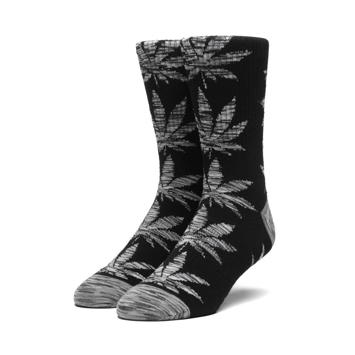 da50e6a2af5 huf plantlife melange leaves sock black