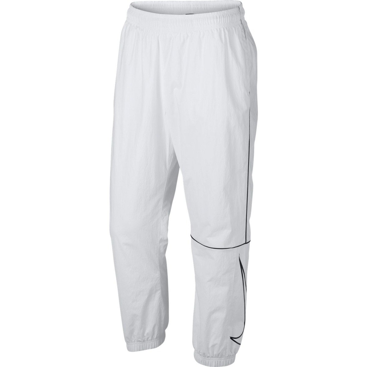 544289fb nike Sb Pant Track Swoosh pants White/black/black white | Clothes \ Pants  Brands \ Nike SB ALL | Skateshop Miniramp.pl