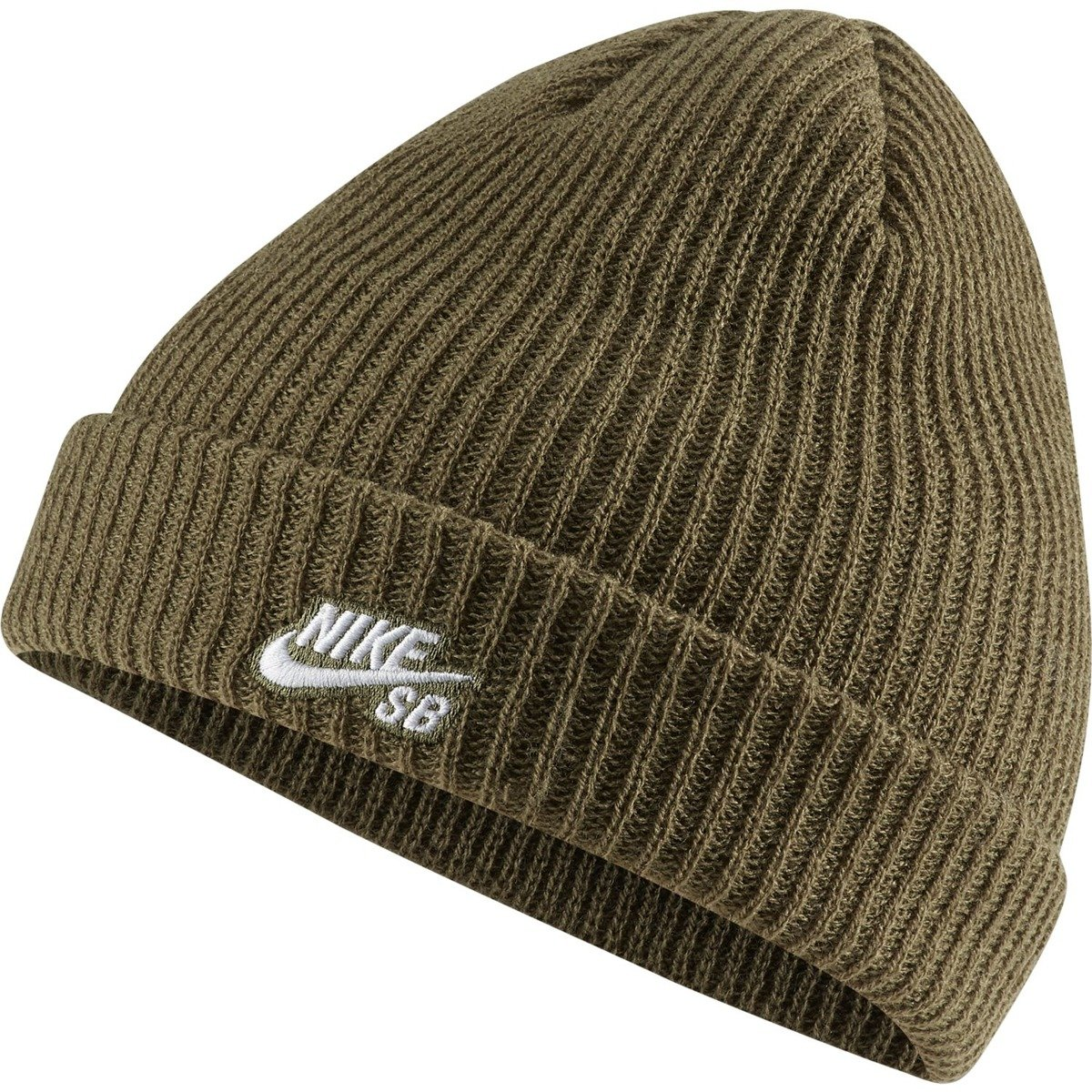 wholesale outlet release date: another chance nike sb fisherman beanie Medium Olive/white