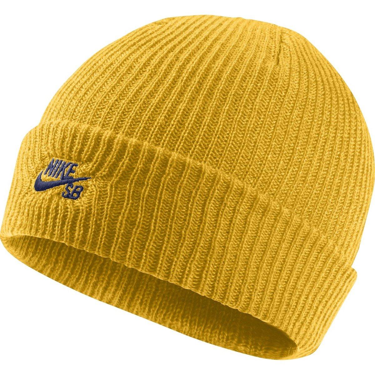 sports shoes c5625 c0fe4 nike sb fisherman beanie yellow ochre blue void yellow   Clothes   Cap   Beanie  Brands   Nike SB Produkt Na Prezent Odzież   Nike SB   Nike SB Fall 2018 ...
