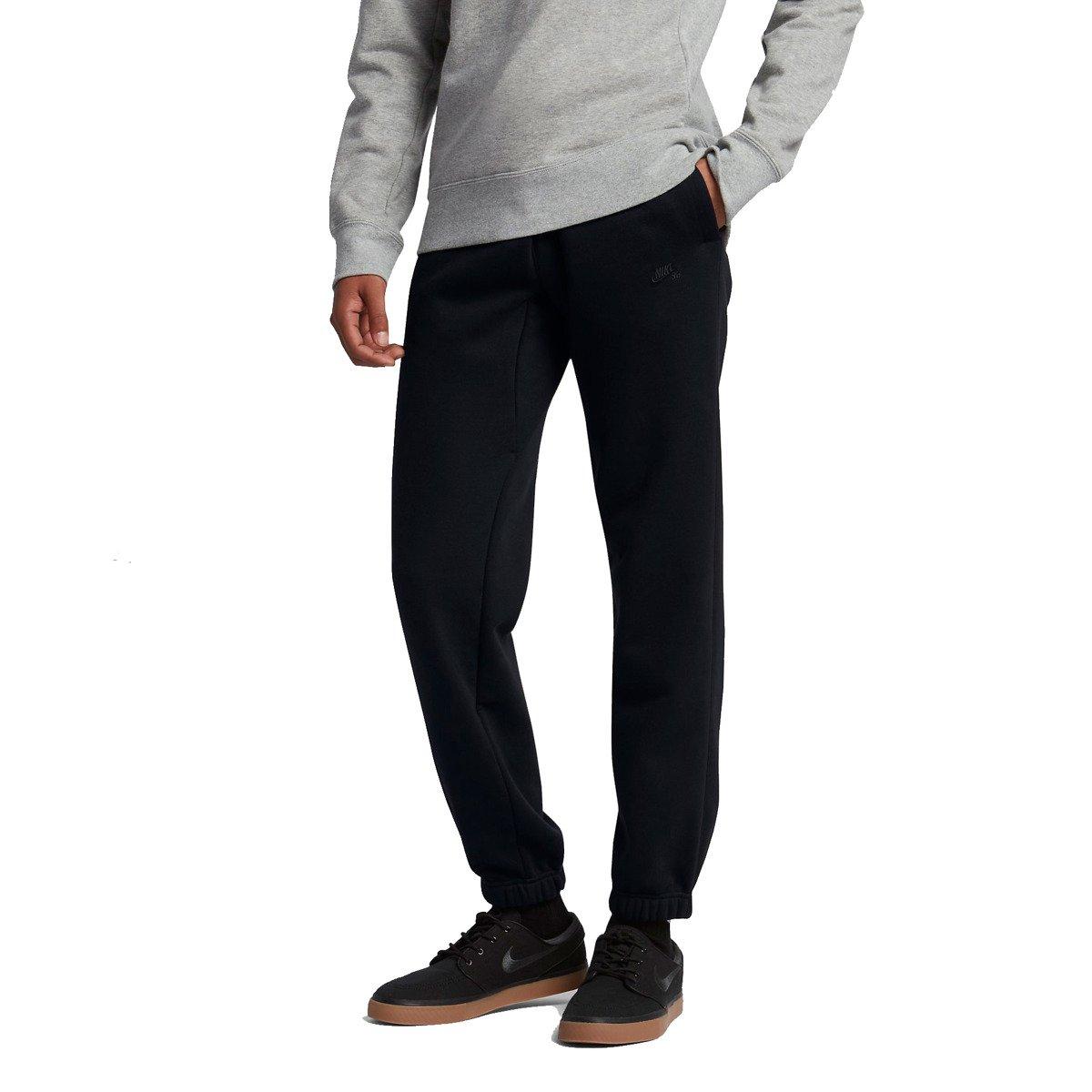 358e160b2ae1 nike sb icon fleece pants black black black