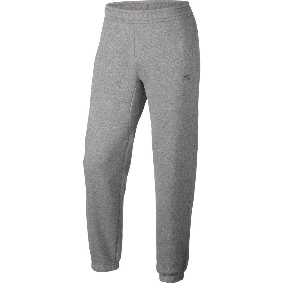 0105a54772a5 nike sb icon fleece pants dk grey heather dark steel grey grey ...