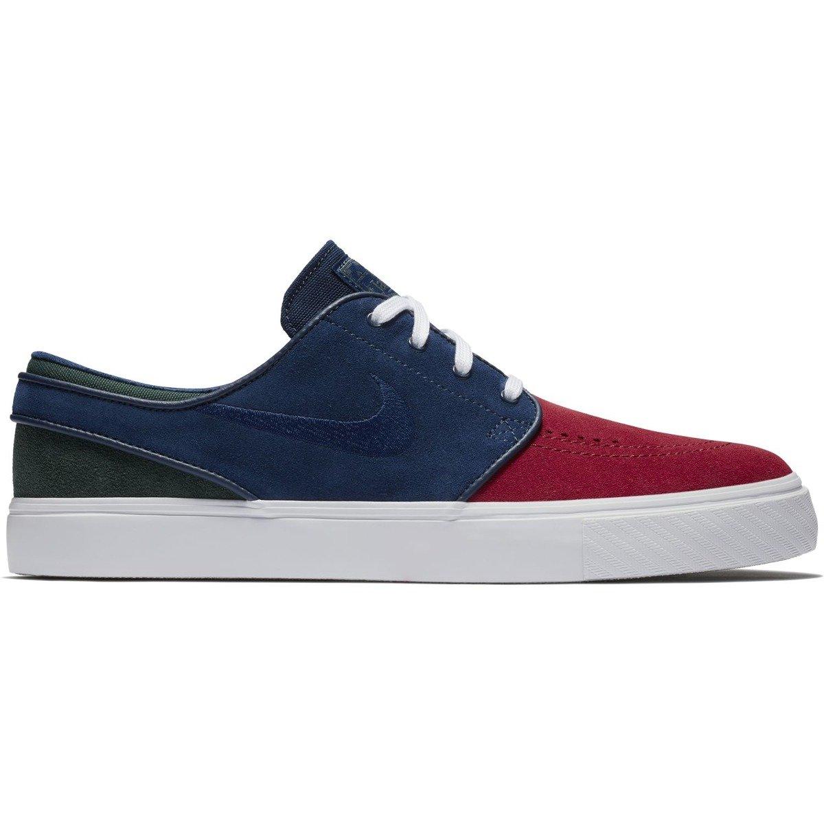 sale retailer 9453d 6605c nike sb janoski RED CRUSH BLUE VOID-WHITE-MIDNIGHT GREEN Click to zoom ...