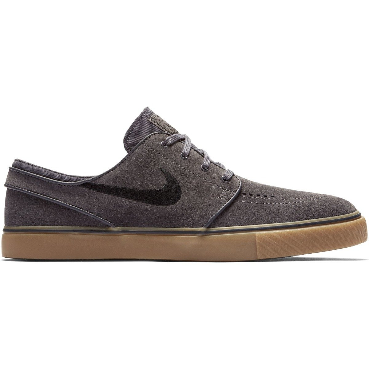 premium selection 77d37 d3336 nike sb zoom stefan janoski thunder grey black-gum light brown Click to zoom  ...