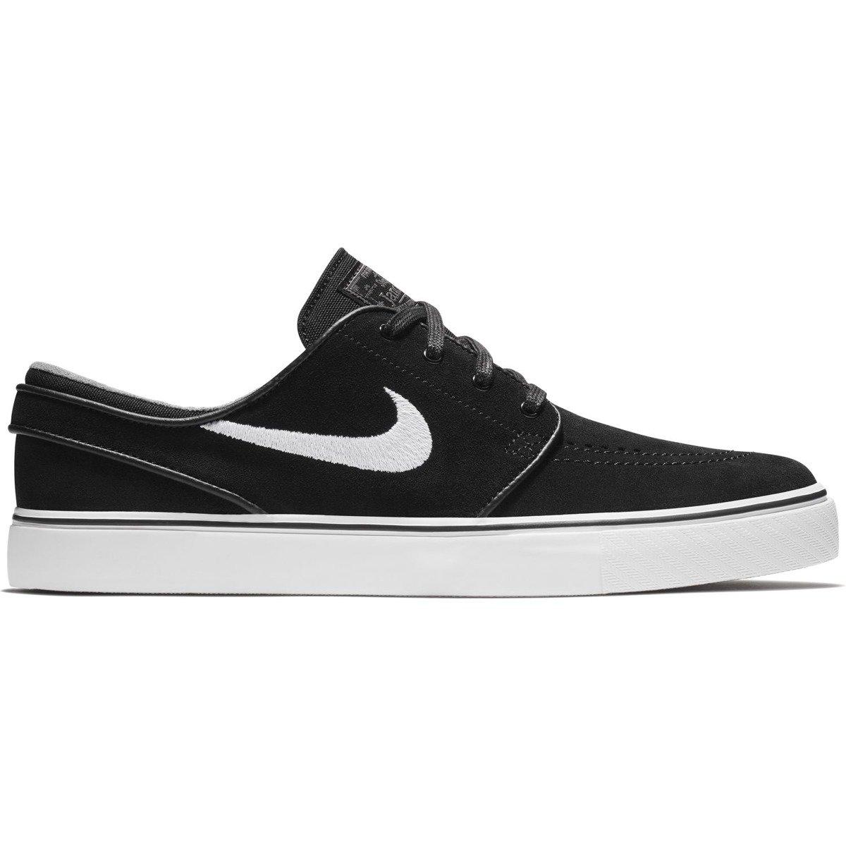new styles ec0a9 b7a39 nike zoom stefan janoski blackwhite-thunder grey-gum light brown black   Shoes  Nike SB Shoes  nike janoski Brands  Nike SB SALE  Sale - 40%   Shoes ...