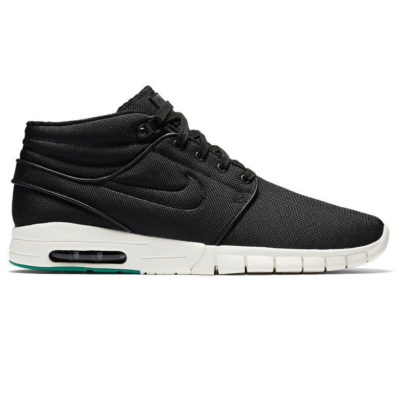4eed863ebf7 shoes nike stefan janoski max mid black black-neptune green-anthracite  Click to zoom ...