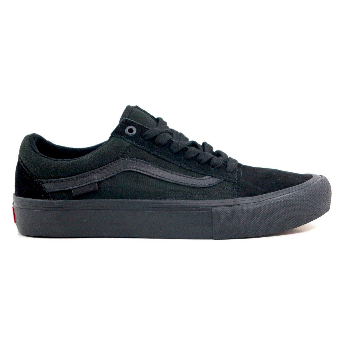 shoes vans old skool pro blackout
