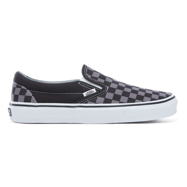 purchase cheap limited style fantastic savings vans slip-on black/pewter checkerboard