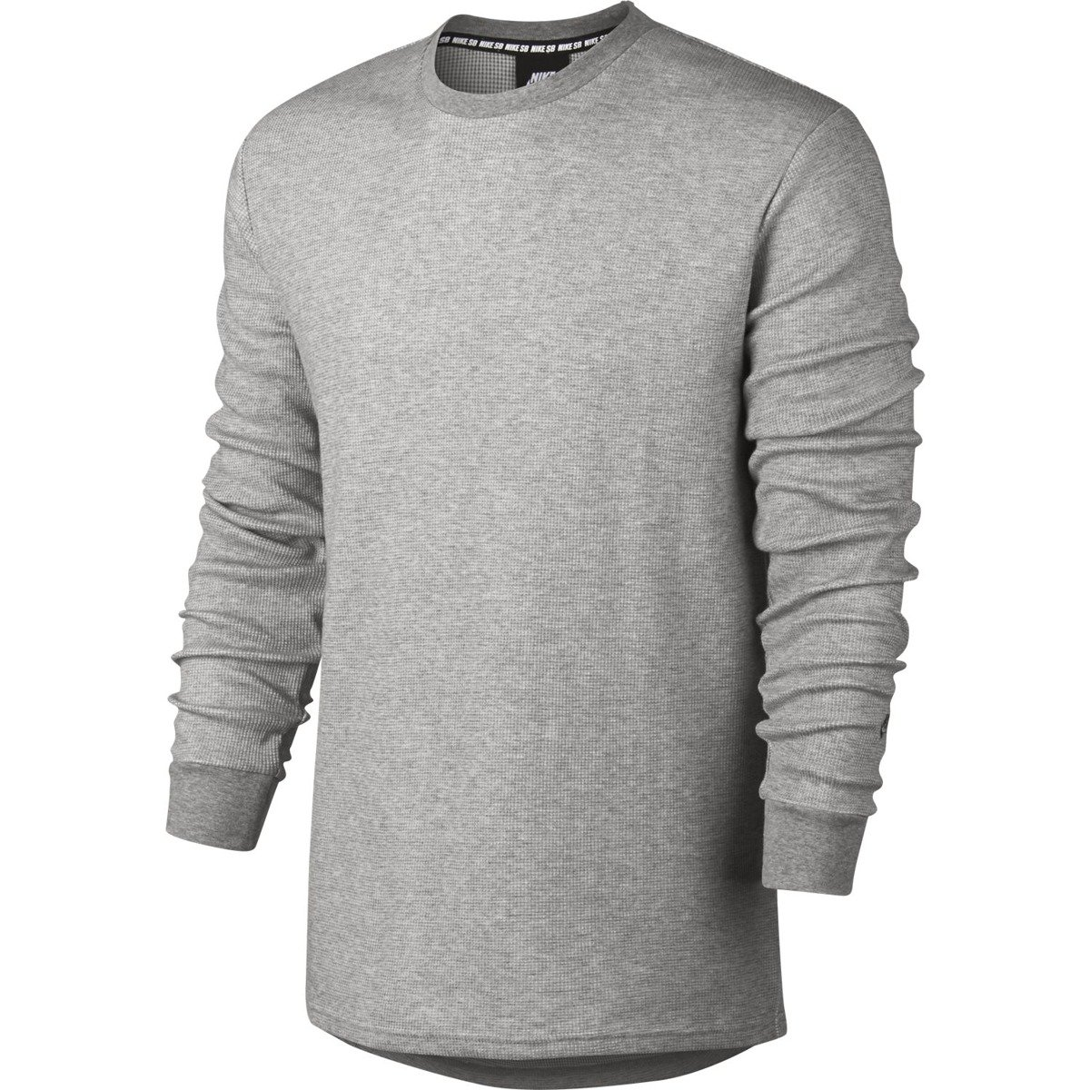efbedf14 Miniramp Skateshop nike sb long-sleeve thermal top dk grey heather/dark  steel grey