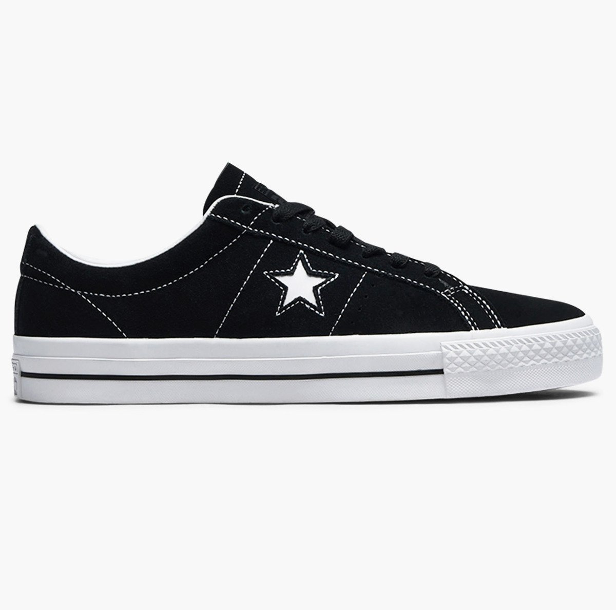 7268ec6bbe Miniramp Skateshop Buty Converse One Star Pro Refinement Ox  (black white white)