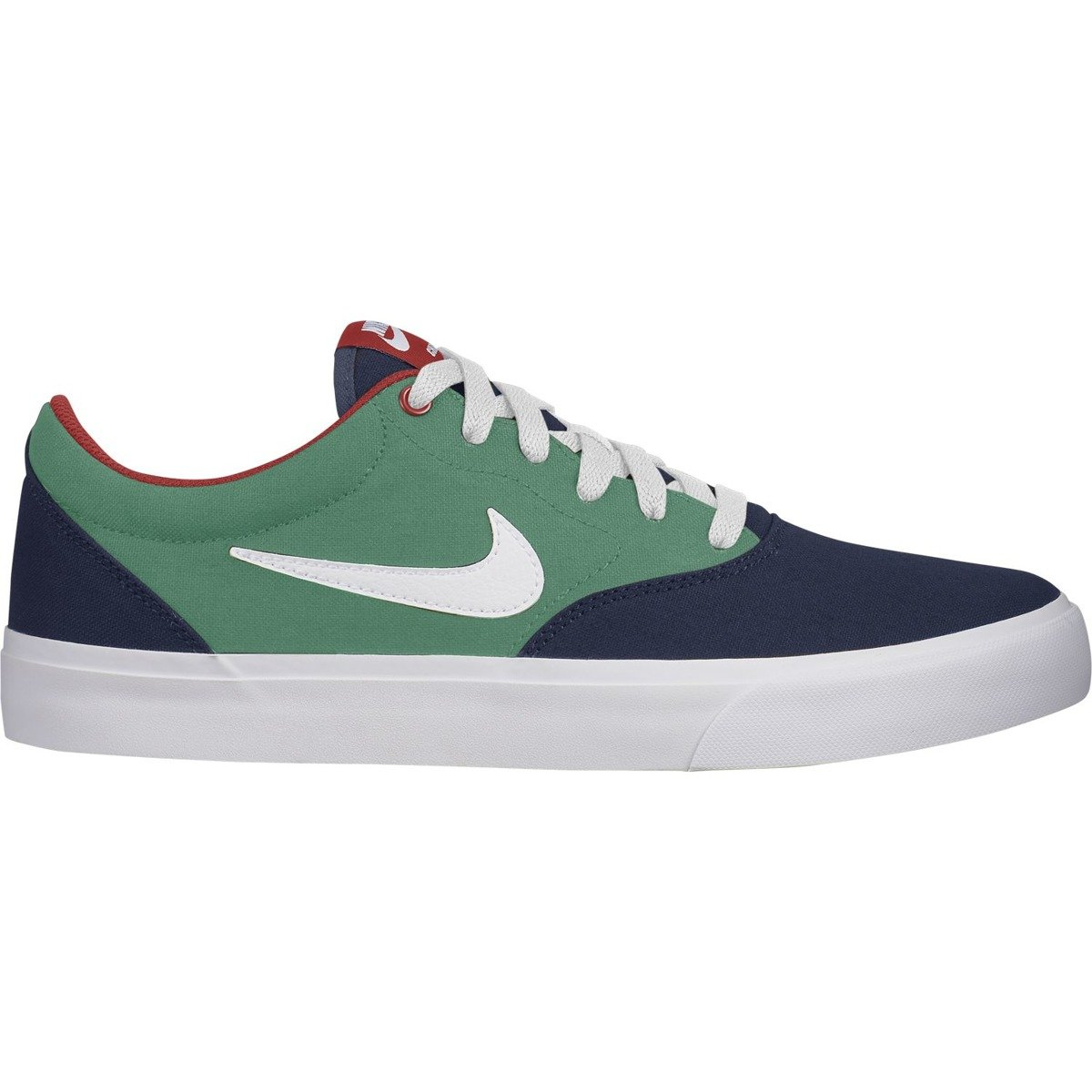 Buty Nike Sb Charge Solarsoft Textile Midnight Navywhite lucid Green