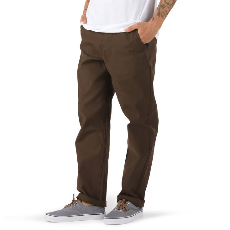 Spodnie Vans AUTHENTIC CHINO GLIDE PRO (DEMITASSE)