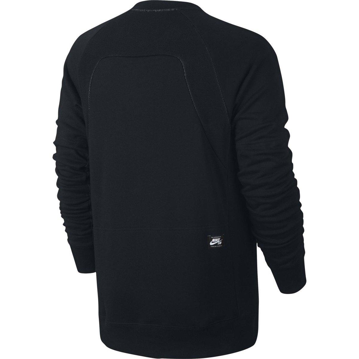 ujęcia stóp świetne ceny unikalny design bluza nike sb everett reveal crew top black/white