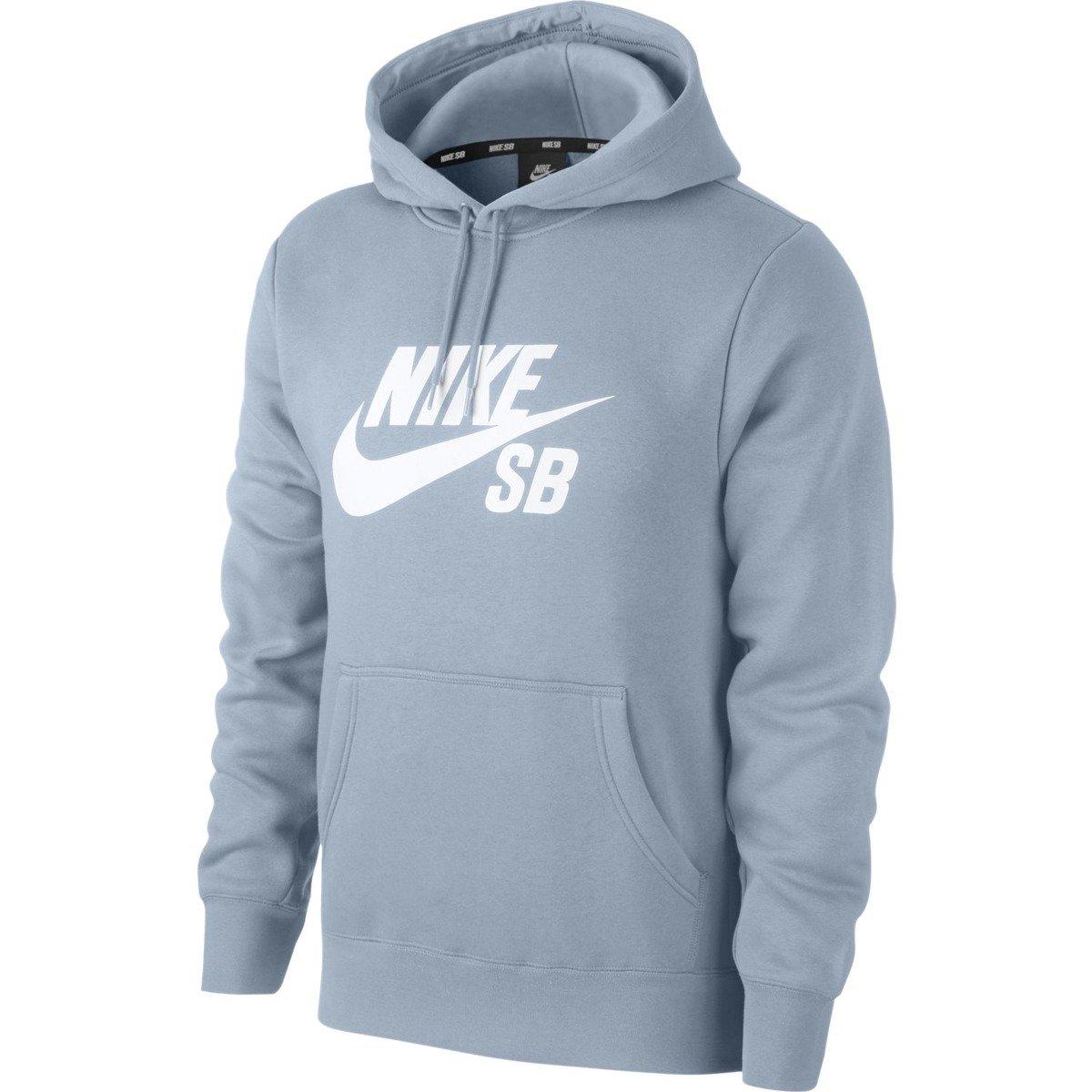 bluza nike sb icon hoodie po essential Lt Armory Bluewhite