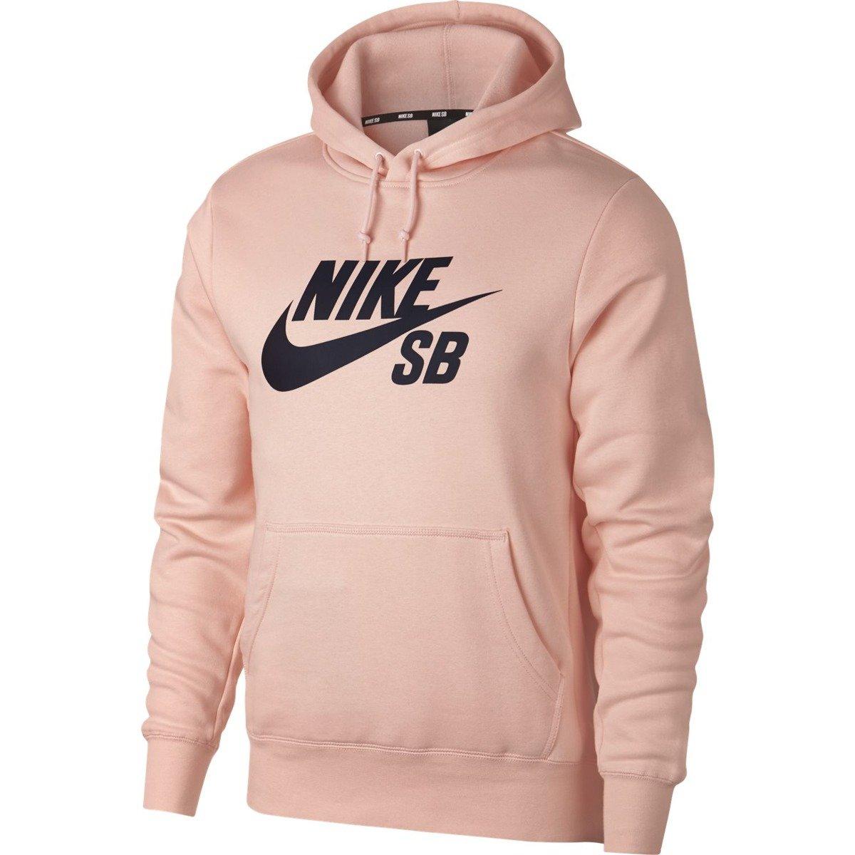 Nike Bluza Bluzy męskie różowe w