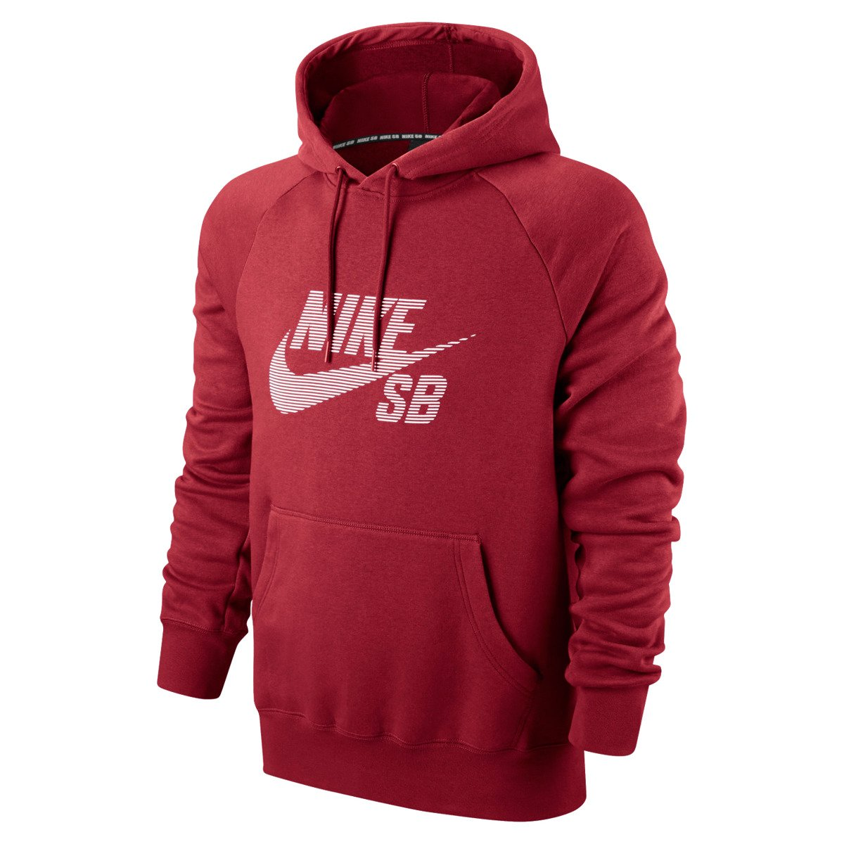 c5d4a22277f7 Miniramp Skateshop bluza nike sb icon pullover stripe men s hoodie team red