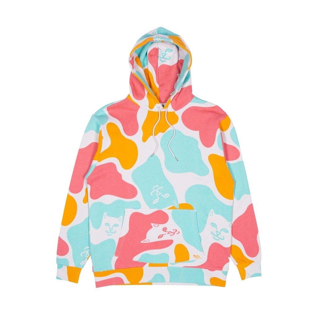 OVERSIZED HOODIE Bluza z kapturem multi coloured