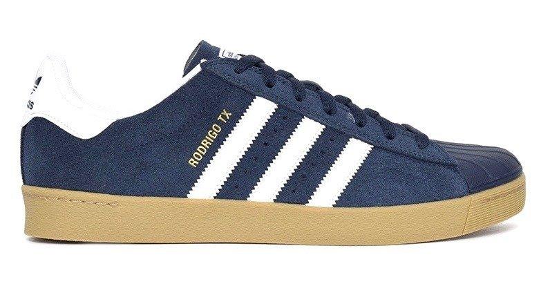 3a28bd51305a4 Miniramp Skateshop buty adidas skateboarding superstar vulc adv rodrigo tx  - blue