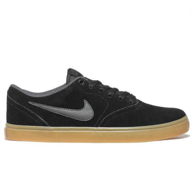 separation shoes 84434 5fad1 Miniramp Skateshop buty nike sb check solarsoft skateboarding shoe  blackanthracite-gum light brown