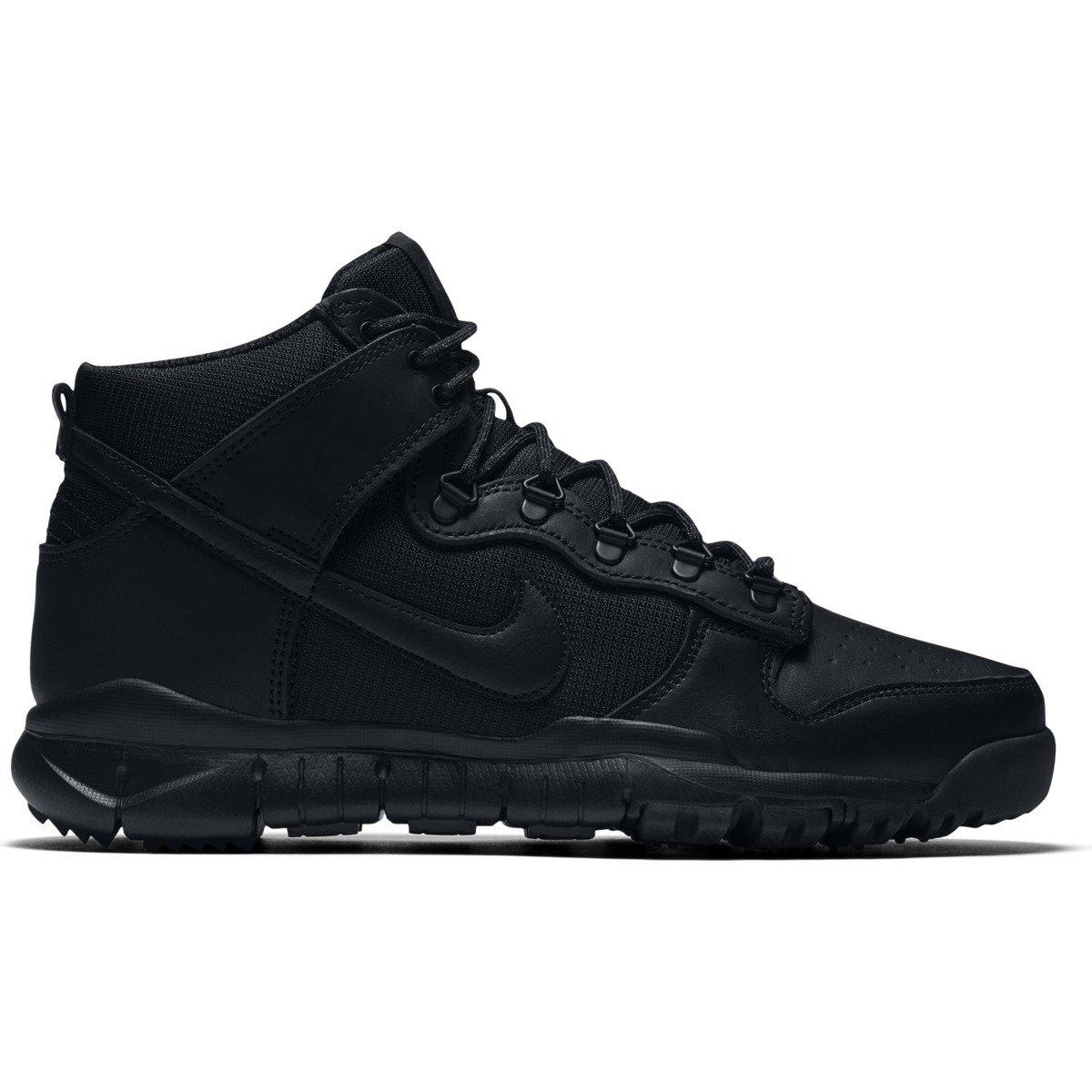brand new 0d57e 5d0df Miniramp Skateshop buty nike sb dunk high bota skateboarding shoe black  black