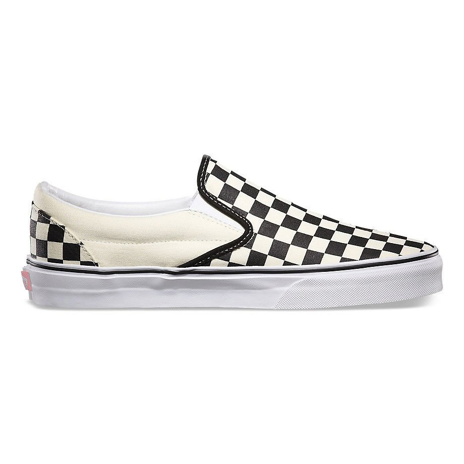af1833187af98 Miniramp Skateshop buty vans classic slip on black/white chckr