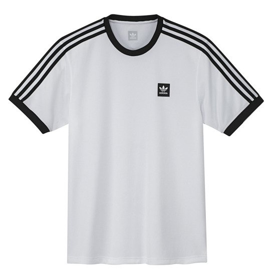San Francisco a2edf 95568 adidas skateboarding club jersey white
