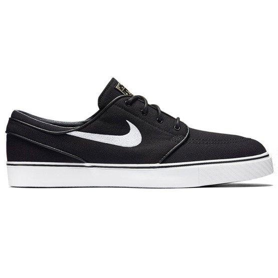 Chwalebne Buty Nike Zoom SB Stefan Janoski Canvas black/white black | Shoes LG06