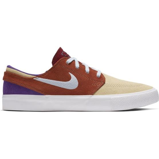 tani Trampki 2018 Całkiem nowy Buty Nike Sb Zoom Stefan Janoski RM Desert Ore/lt Armory Blue-dusty Peach